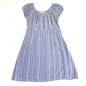 Hollister • Blue Striped Short Dress